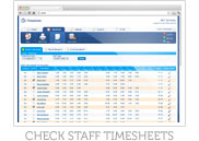 Check Staff Timesheets
