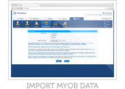 Import MYOB Data