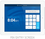 Pin Entry Screen
